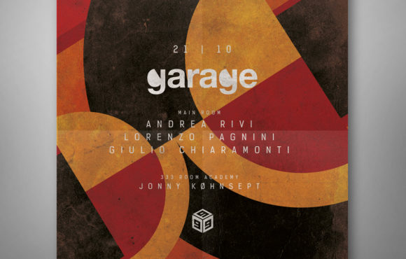 Flyer Garage Club 999 Prato