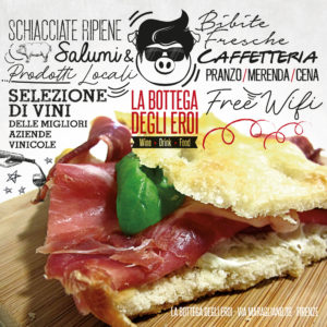 Logo La Bottega degli Eroi Firenze