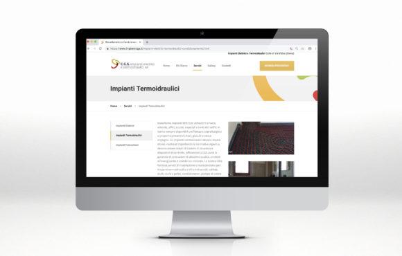 Realizzazione Siti Internet Impianti Termoidraulici CGS
