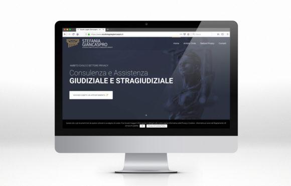 Sito Internet Studio Legale Giancaspro
