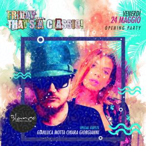 Flyer Pubblicitari Blanco Beach Club Firenze