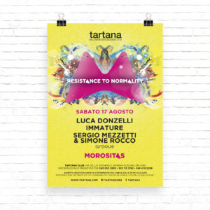 Flyer Pubblicitari Morositas @ Tartana