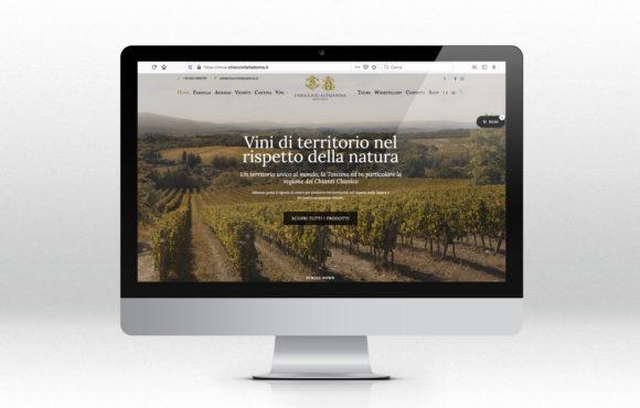 E-Commerce Vino Chioccioli Altadonna